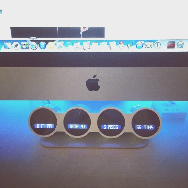 Nimbus Smart Dashboard + Clock