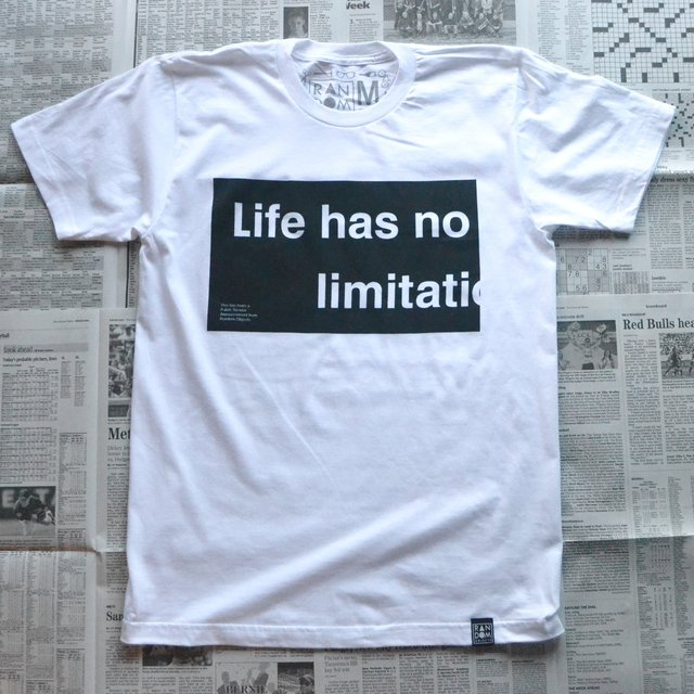No Limitations T-Shirt by Random Objects