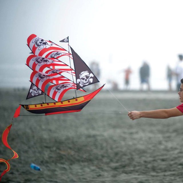 Pirate Ship 3D Kite
