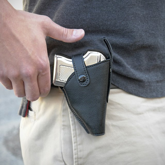 Pistol Flask & Holster
