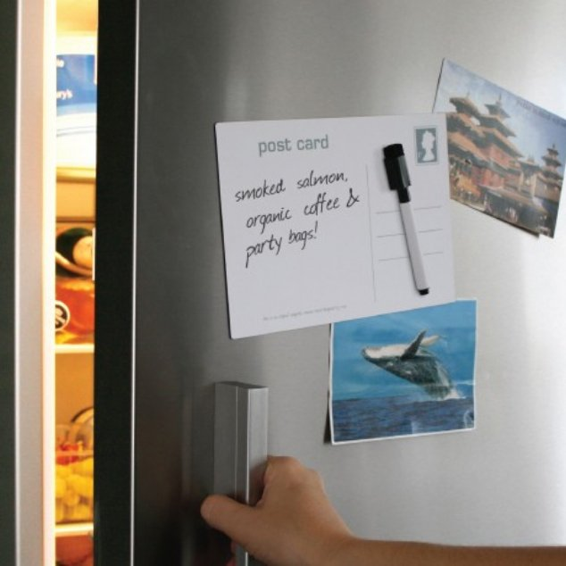Post Card Magnetic Memo Board