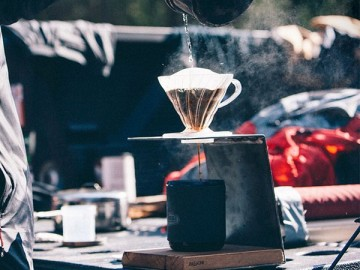 Pour Over Coffee Stand by JM & Sons