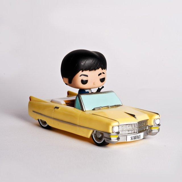 Scarface Toy Car