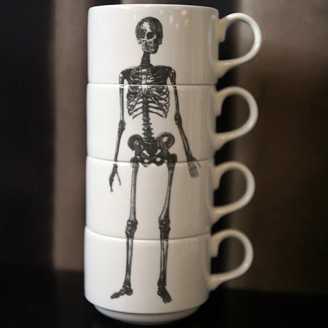 Skeleton Cup Stack
