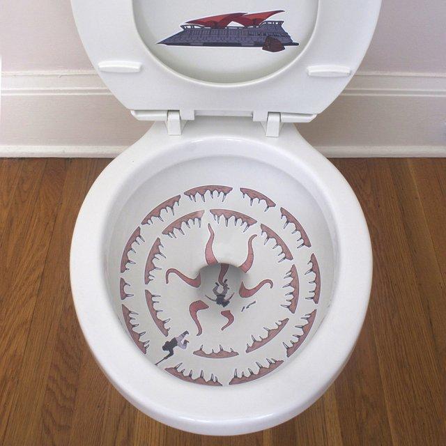 Star Wars Sarlacc Toilet Decals