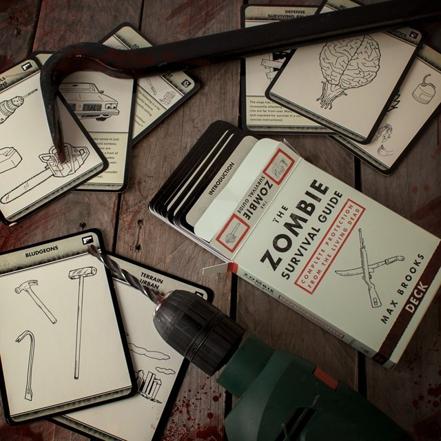 The Zombie Survival Flashcards