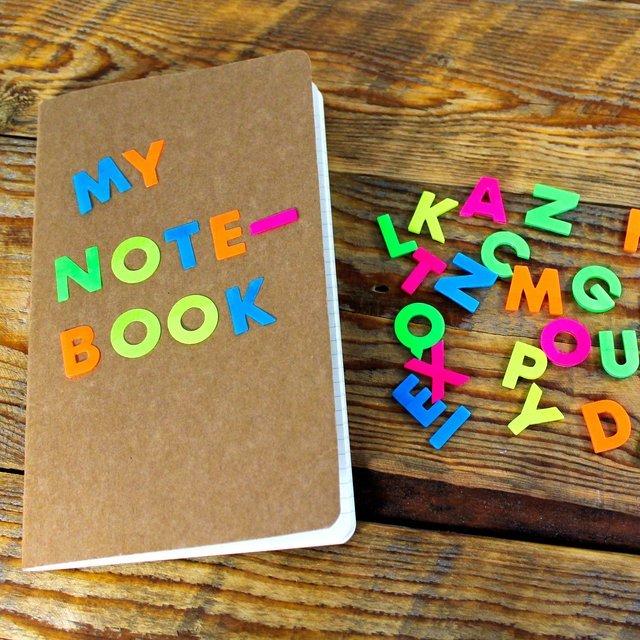 A-Z Sticky Letters