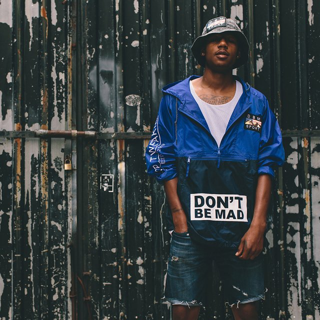 Don't Be Mad Nylon Jacket by D.B.M.