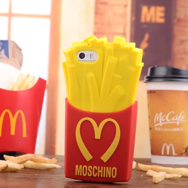 Fast-Food iPhone Case by Moschino