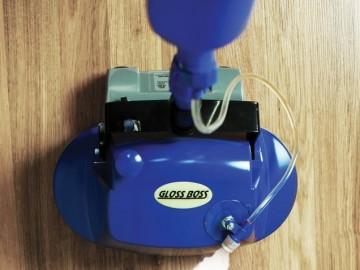 Gloss Boss Polishing Floor Scrubber
