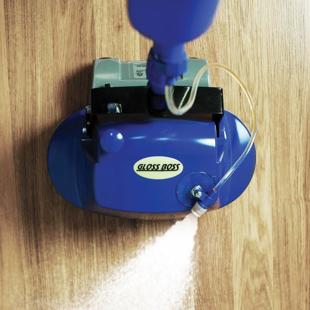 Gloss Boss Polishing Floor Scrubber 187 Petagadget