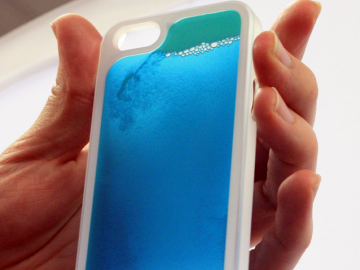 Glow In The Dark Sand iPhone Case