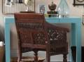 Hand-Carved Maharaja Chair