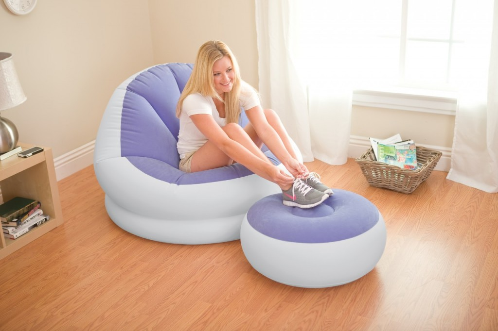 Inflatable Colorful Cafe Chaise Lounge Chair