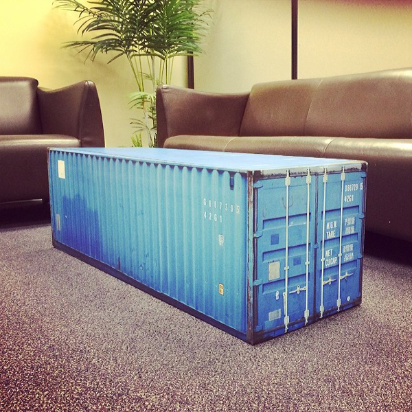 Intermodal Coffee Table Wrap