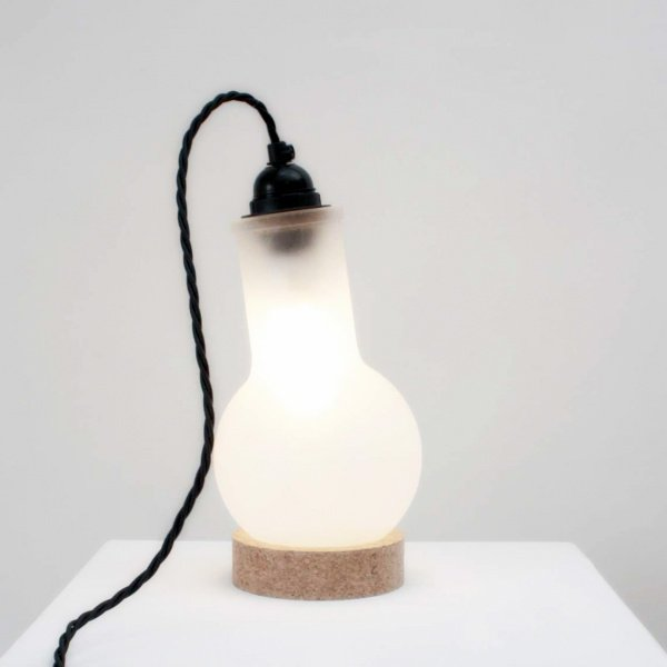 LAB Lamp & Cork Stand by Duffy London