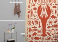 Lobster Shower Curtain by DENY Designs