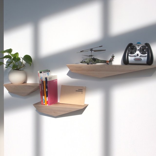 Peliships Floating Shelves by David Hsu Design