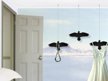 Raven Bird Hanger