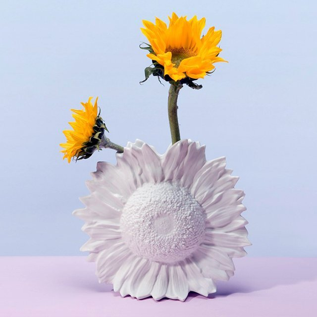 Reality Sunflower Vase by Harry Allen