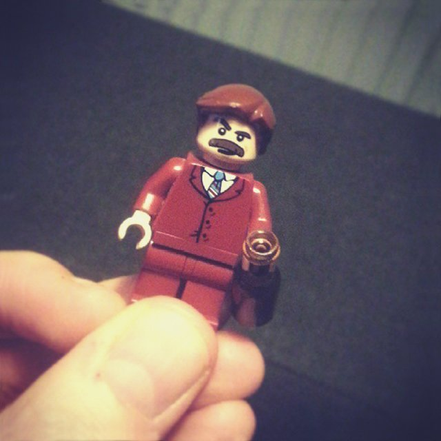 Ron Burgundy Minifig by miniBIGS