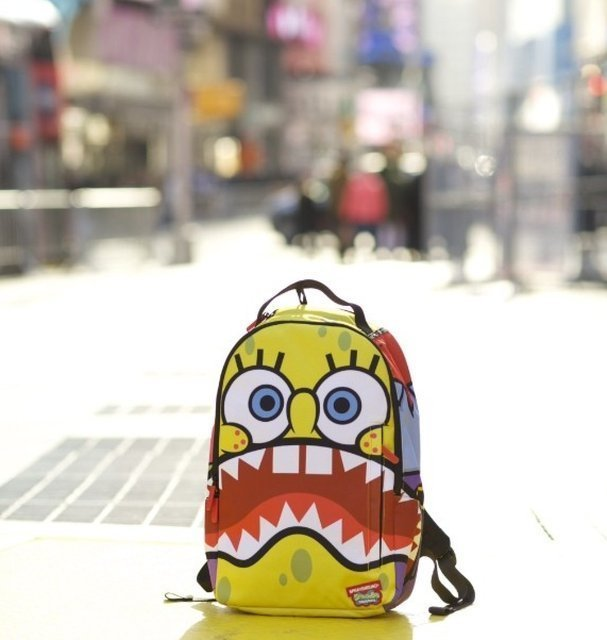 Sprayground X Spongebob Sharkpants Backpack