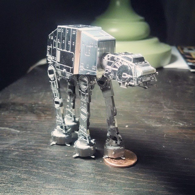 Star Wars AT-AT Steel Model by Metal Earth