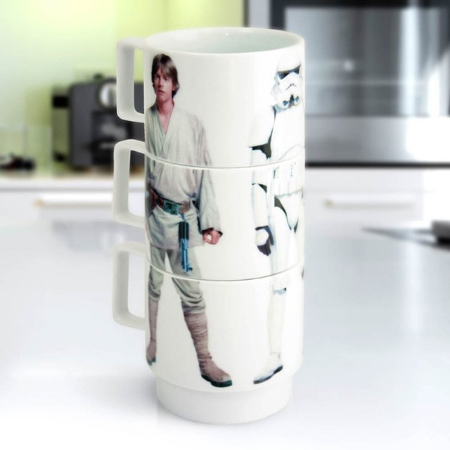 Star Wars Stacking Mugs