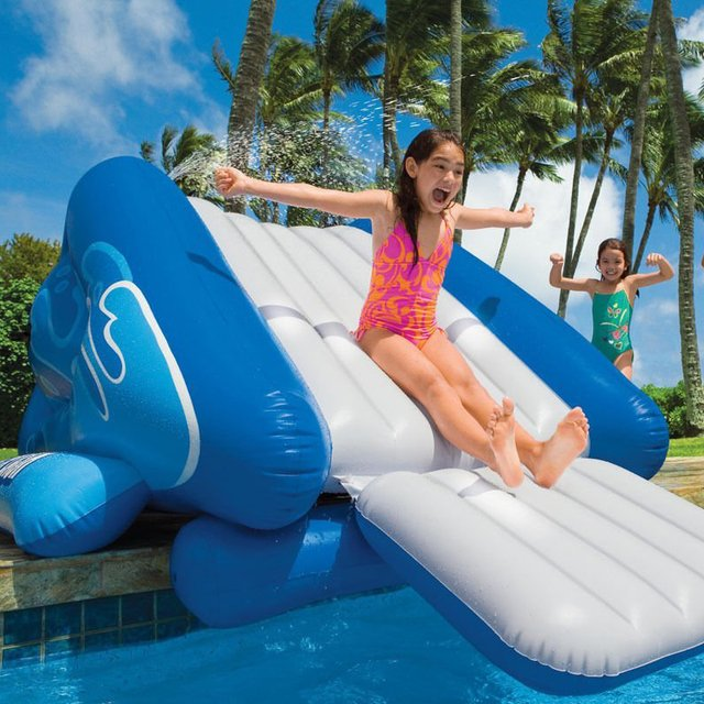 Swimming Pool Water Slide