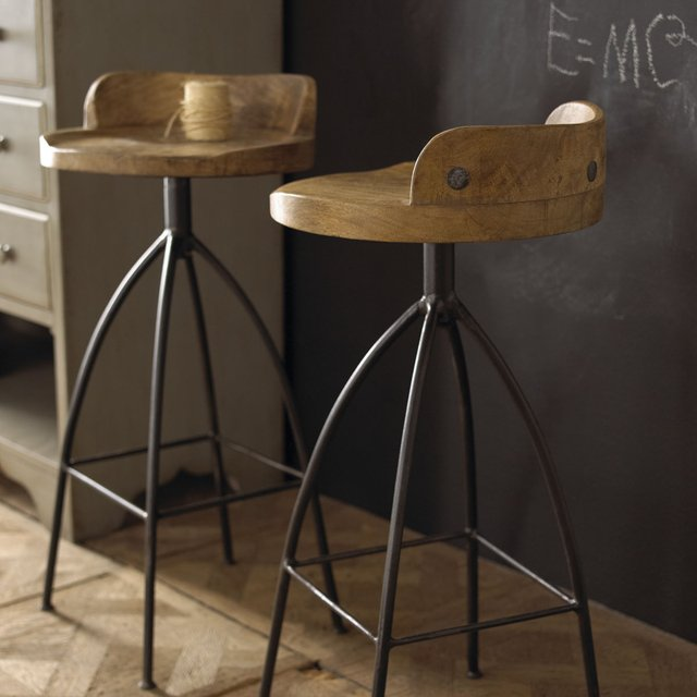 Wood Barstool by Arteriors