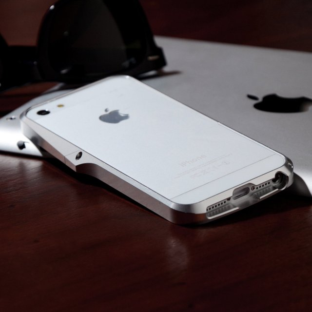 Ag++ Aluminum iPhone 5 Bumper Case