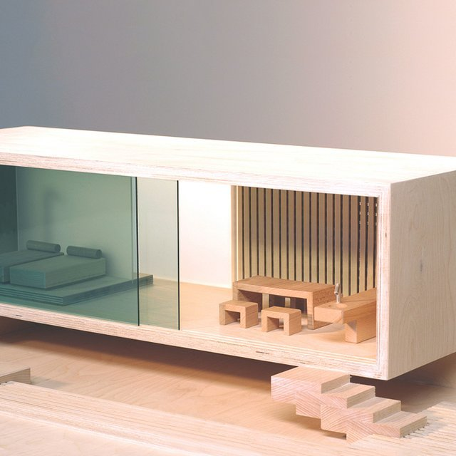 Bauhaus Villa Dollhouse by Sirch