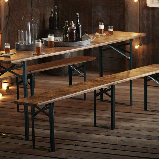 Biergarten Table & Benches by Roost