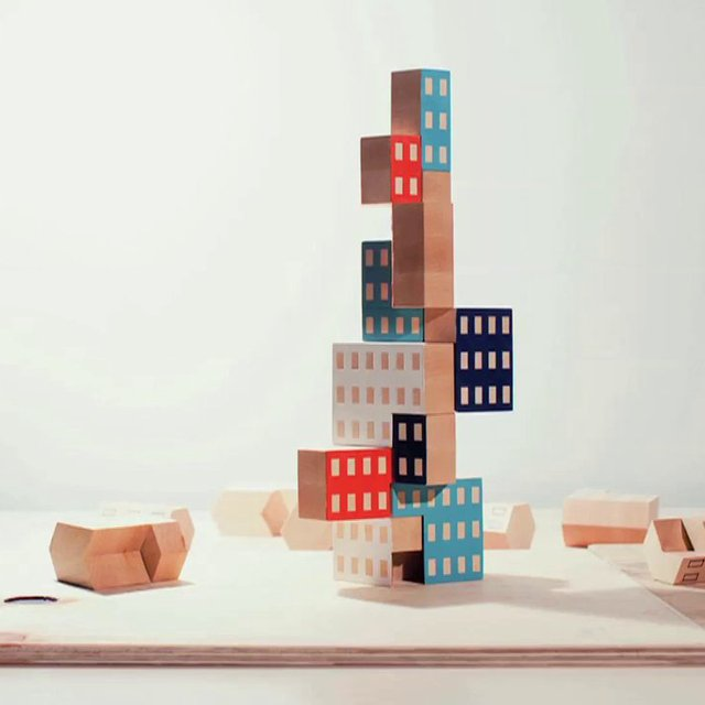Blockitecture Wooden Blocks