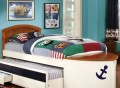 Capitaine Boat Twin Trundle & Storage Bed