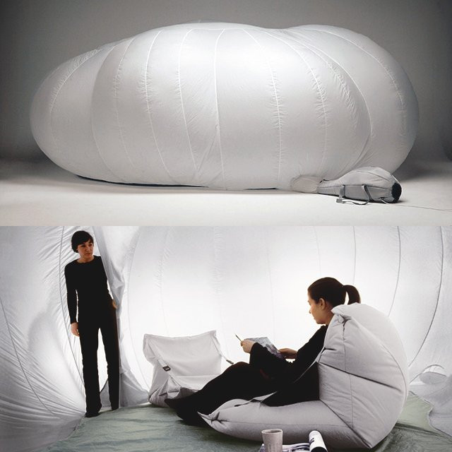 Cloud Inflatable Room by Monic Forster