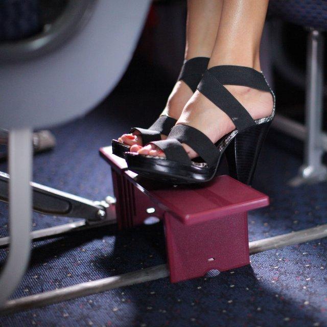 Compact Portable Footrest
