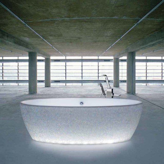 Dip Mosaic Lighting Tub