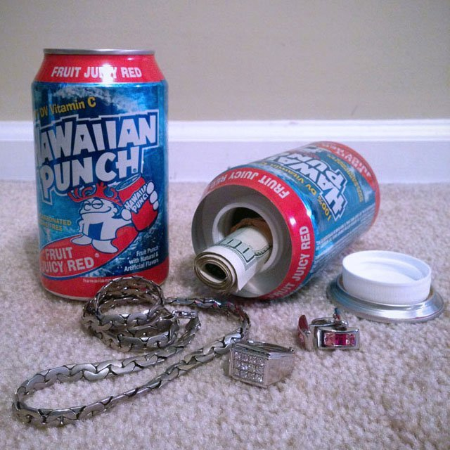 Hawaiian Punch Diversion Safe Can