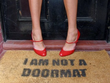 I Am Not A Doormat Doormat