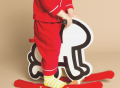 Keith Haring Baby Rocker by Vilac