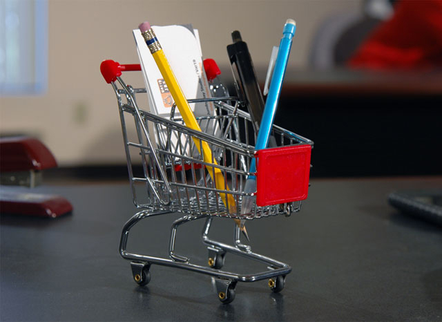 Mini Shopping Cart Organizer