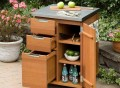 Montego Bay Patio Kitchen Cart