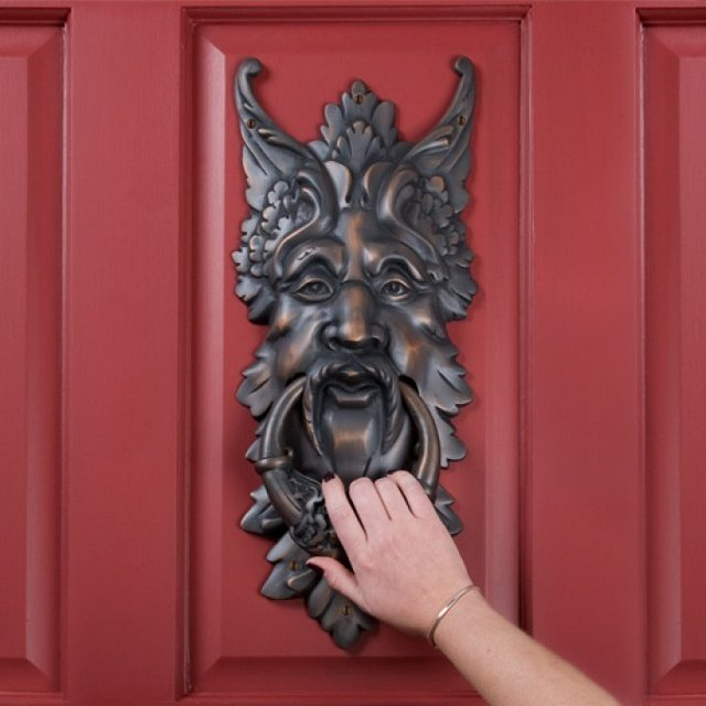 Oberon Brass Door Knocker