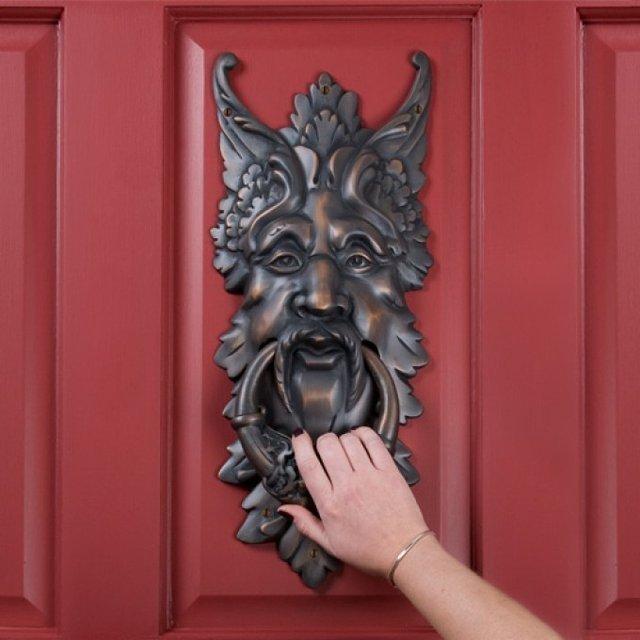 Oberon Brass Door Knocker