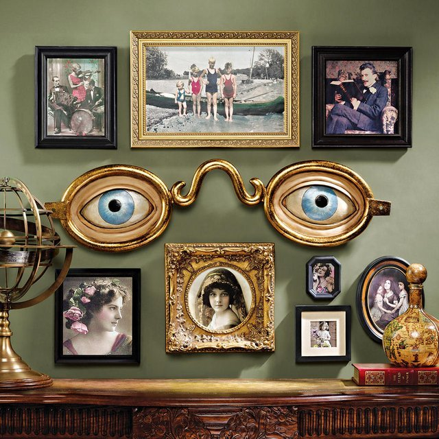 Optometrist Trade Wall Sculpture