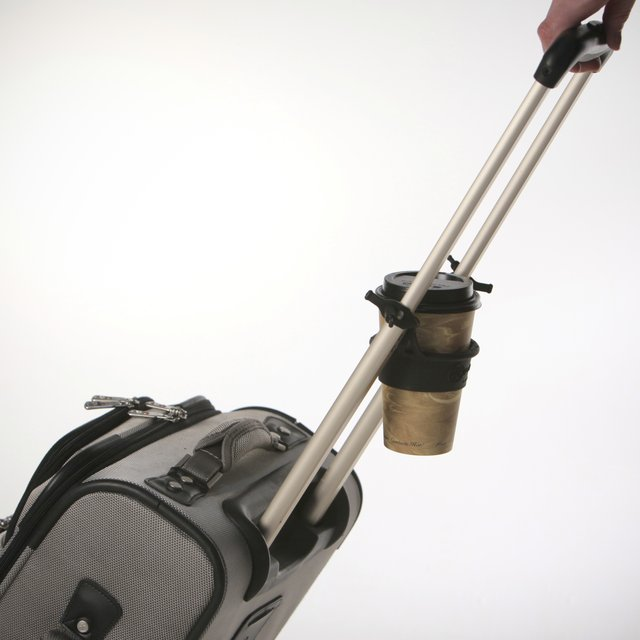 Rolling Luggage Drink Holder by tugo