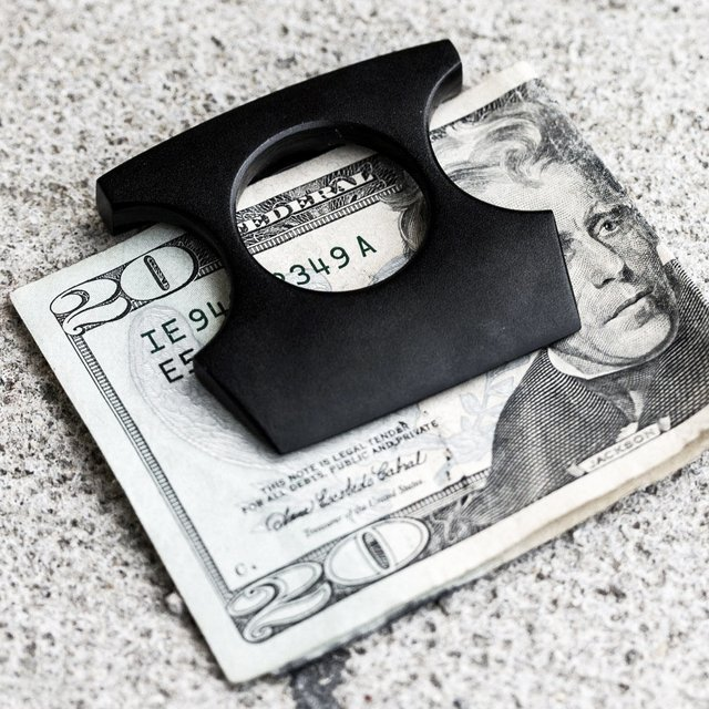Self Defense Money Clip