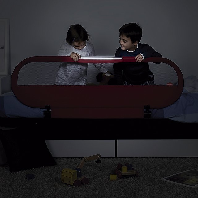 Side LED Bed Rail by BabyHome