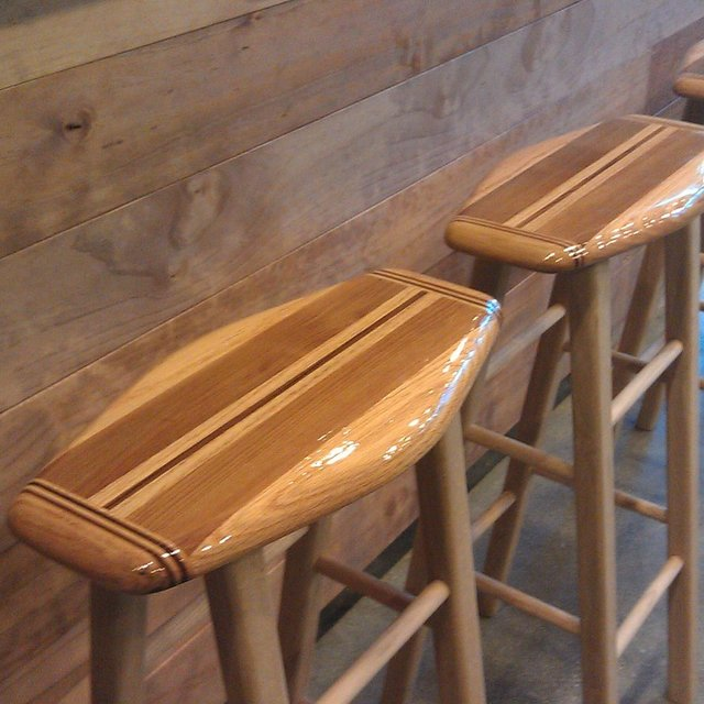 Swagger Bar Stools by Surf Life Designs